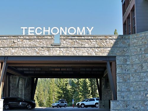 Techonomy Sign